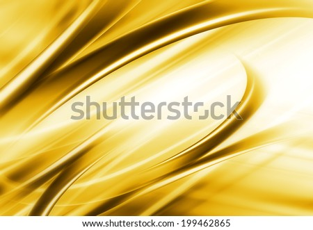 Abstract Modern Golden And White Background - stock photo