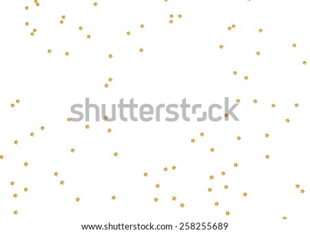Abstract modern Holiday white background with stars.