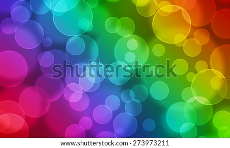 Abstract modern party colorful blurry bokeh background