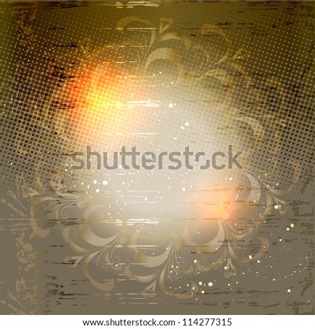 abstract modern universal elegant background with a geometrical ornament. raster version - stock photo