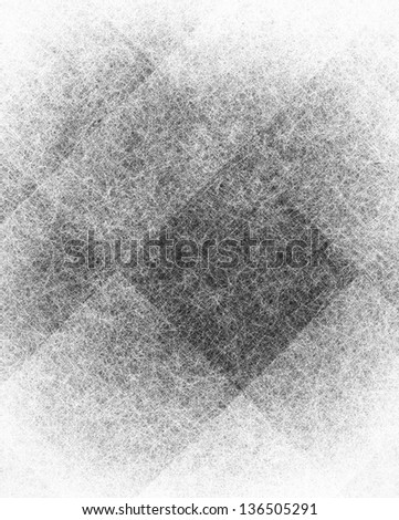 abstract monochrome background white black modern art design layout, silver gray background geometric shape diamond box blocks or checkered squares, vintage grunge background texture website design - stock photo