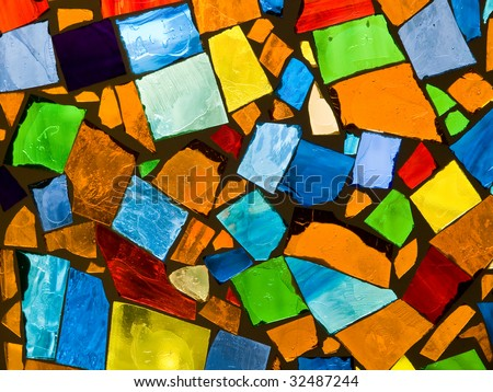 Abstract mosaic - stock photo