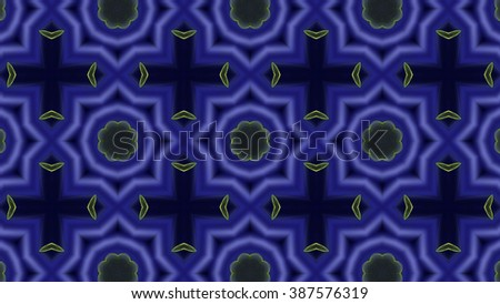 Abstract mosaic seamless texture or background. Dark blue pattern