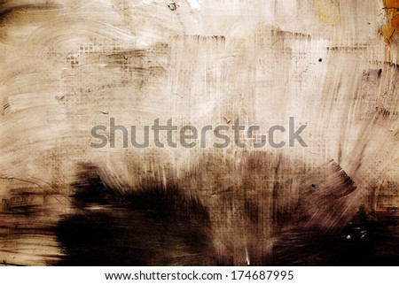 Abstract mottled grunge background texture with spotty pattern wall, old colored rough wall background