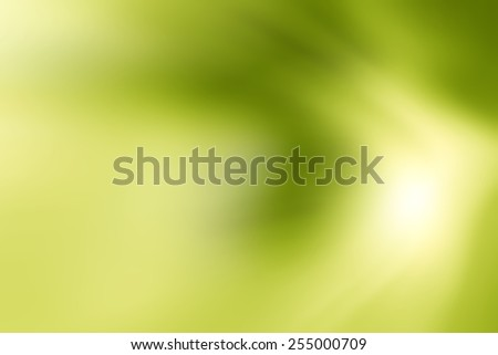 Abstract movement background. Smooth twist soft light. Art of green wave, Wave texture, Blurred background, - stock photo