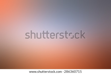 abstract multicolor orange blurred background, smooth gradient texture color, shiny bright website pattern, banner header or sidebar graphic art image - stock photo