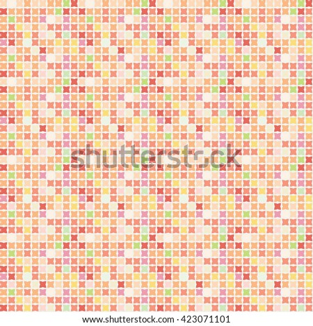 Abstract multicolor pattern for paper and fabric design
