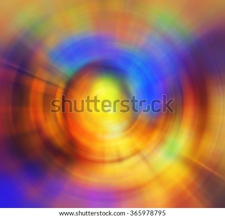 Abstract multicolor radial background