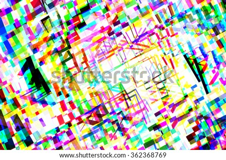 abstract multicolor texture  background with square pattern