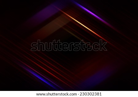 Abstract multicolored fractal background with various color lines and strips - stock photo