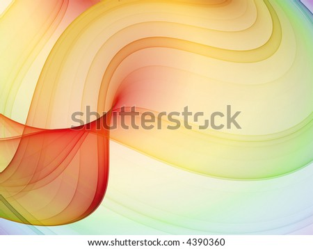 abstract multicolored theme - high quality rendered image - stock photo