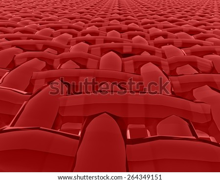 Abstract muscle fiber background and red blood cells. Organic Tissue Texture