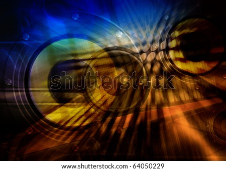 background, technology color background, futuristic design - stock