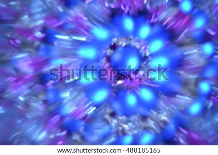 Abstract natural background, Christmas tree decoration, lights