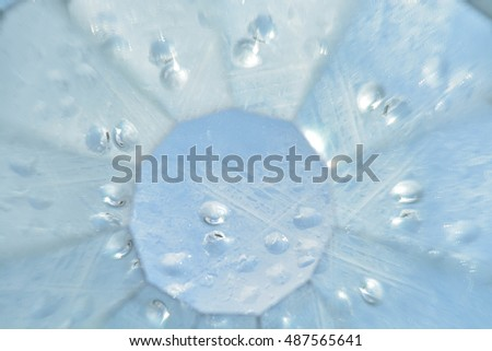 Abstract natural background, water