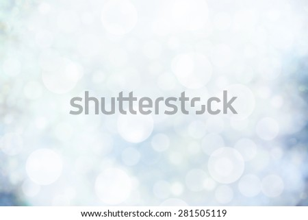 Abstract natural backgrounds with bokeh - stock photo