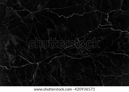 abstract natural Black marble natural pattern for background, - stock photo