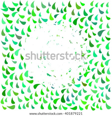 Abstract natural colorful cover. Tempate for design, backgrounds, frame, covers. Raster version. - stock photo