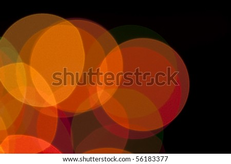 abstract natural lights background - stock photo
