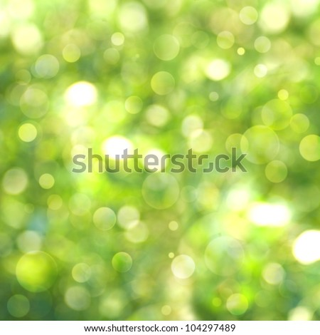 Abstract natural summer and spring backgrounds - stock photo