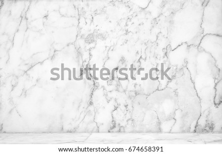 marble table top texture. Abstract Natural White Marble Texture Background On Floor : Top View Of Table .