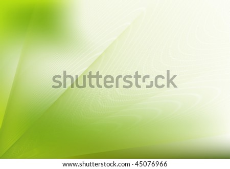 Abstract nature background in green pattern - stock photo