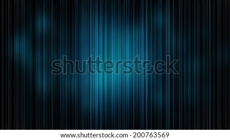 Abstract neon background with blue strips - stock photo