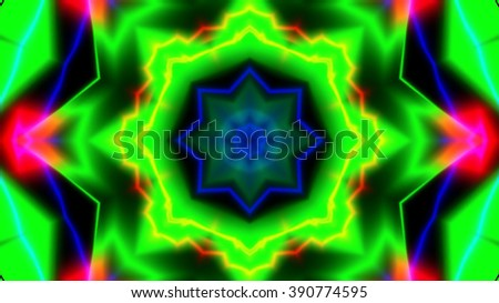 Abstract neon colors background