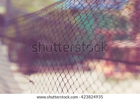 Abstract net pattern texture background. - stock photo
