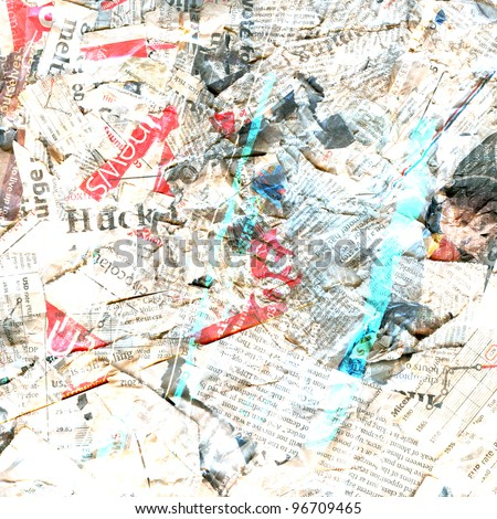 Abstract newspaper background