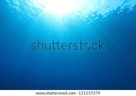 Abstract Ocean Background - stock photo