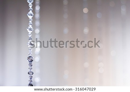 Abstract of Blind Crystal Background  - stock photo
