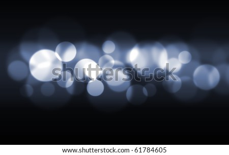 abstract of bokeh digital photo illustration - stock photo