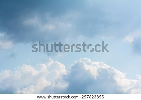 abstract of cloud on the sky - stock photo
