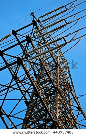 Abstract of Electrical Steel Tower