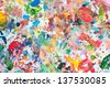 Abstract of grunge texture of watercolor paint splatter - stock photo