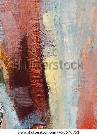 Abstract oil hand painted background. Oil painting texture. Abstract background, canvas texture. Cover design concept. Oil. Knife painting.