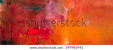 Abstract oil painting background. Oil on canvas texture. Hand drawn oil painting.Color texture. Fragment of artwork. Brushstrokes of paint. Modern art. Contemporary art. Watercolor drips - stock photo