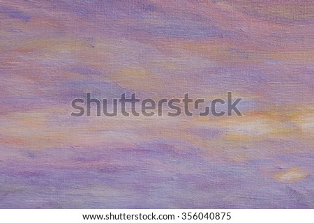 Abstract oil painting background with brush stokes on paint. Art concept. - stock photo