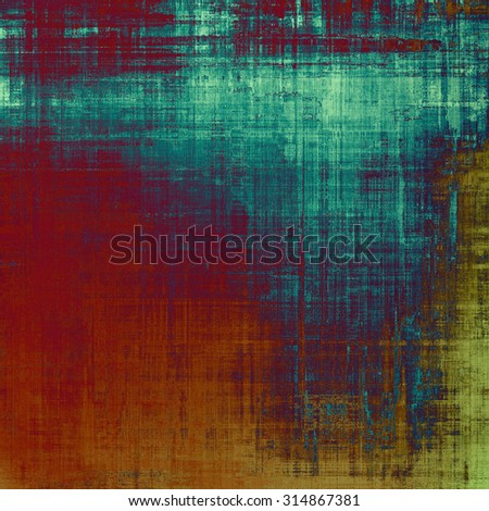Abstract old background or faded grunge texture. With different color patterns: brown; purple (violet); blue; red (orange) - stock photo