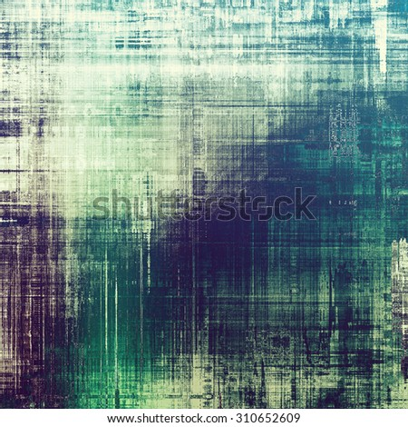 Abstract old background or faded grunge texture. With different color patterns: green; purple (violet); blue; cyan - stock photo
