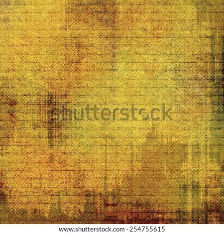 Abstract old background or faded grunge texture. With different color patterns: yellow (beige); brown; green - stock photo