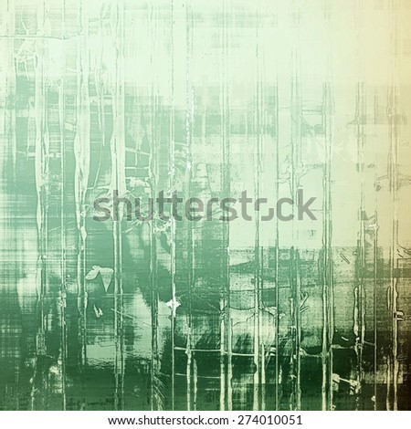 Abstract old background with rough grunge texture. With different color patterns: yellow (beige); gray; green - stock photo