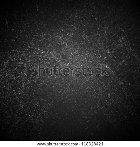 Abstract Old Black Surface Texture - stock photo