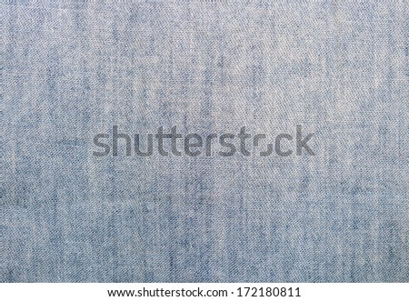 abstract old denim blue jeans texture  - stock photo
