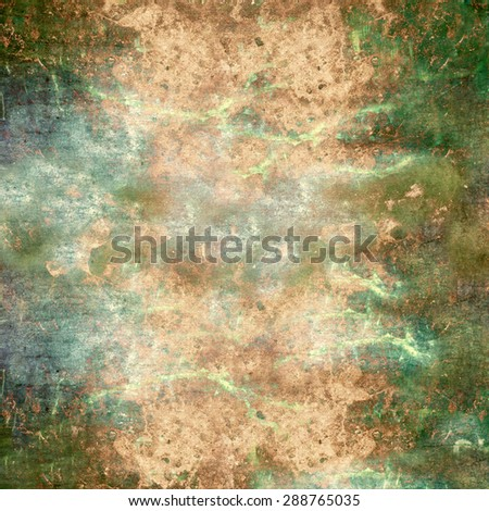 Abstract old grunge colorful wall background