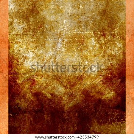 Abstract old grunge wall background. Poster design
