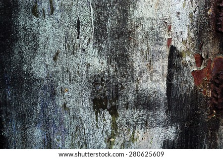 Abstract old rusty colored metal steel background texture - stock photo