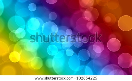 Abstract on a colorful background