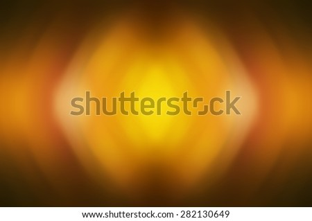 Abstract orange background defocused lights. - stock photo
